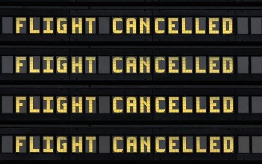 ¡Cierre total de los aeropuertos españoles!